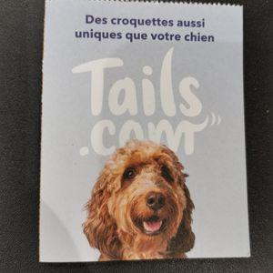 1 mois de croquettes tails gratuites chien