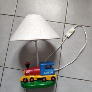 Lampe enfants train
