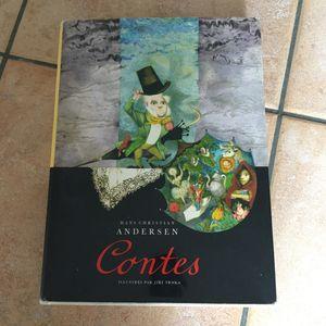 Livre contes d'Andersen