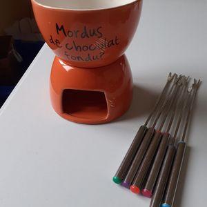 Fondue à chocolat