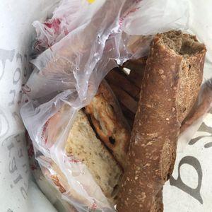 Poche de pain dur