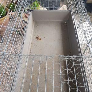 Cage lapin métal