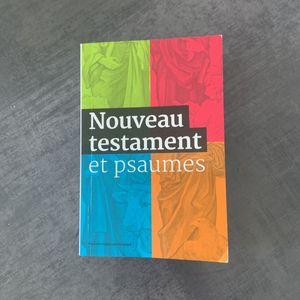 Livre de poche - Nouveau testament