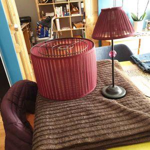 Abat jour + lampe de chevet