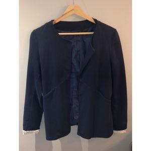 Veste bleu marine femme