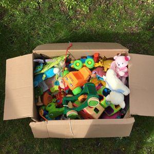 Carton jouets / doudous