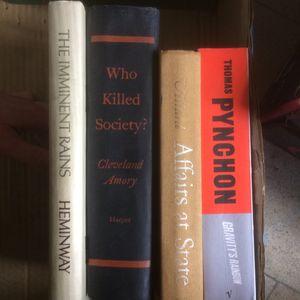 Lot de livres anglais