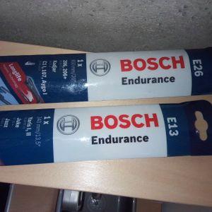 Essuie glace BOSH E13 et E26