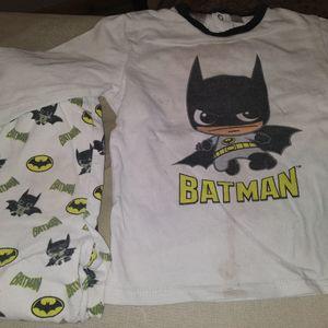 Pyjama et t-shirt Batman 2 ans