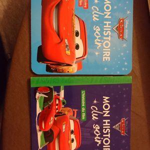Livre enfant cars (1 & 2)