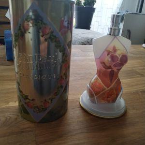 Coffret parfum Jean Paul Gaultier avec reste de parfum