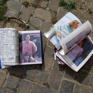 Magazines tricot + classeur