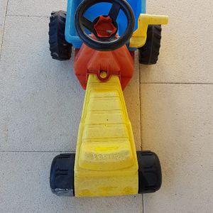 Tracteur à poussé