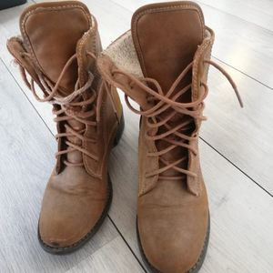Boots portées taille 38