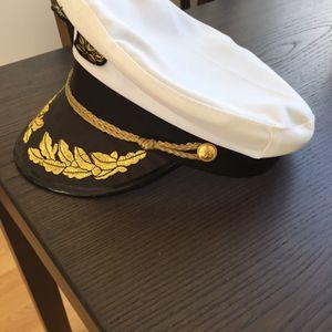 Casquette de capitaine de la marine - déguisement