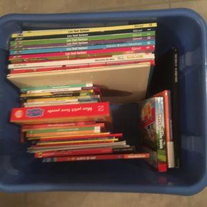 Caisse de livre enfant divers