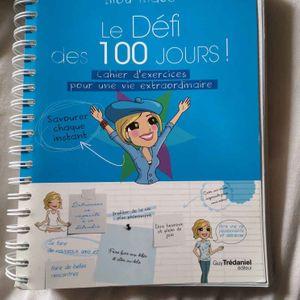 """Livre """"Le Défi des 100 Jours !"""" de Lilou Macé"""
