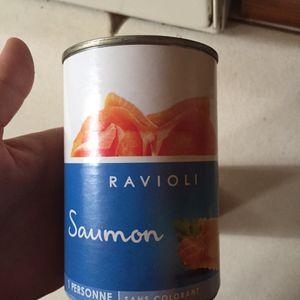 Raviolis saumon