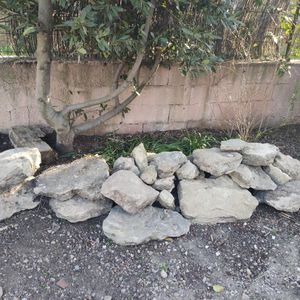 Pierres pour jardin