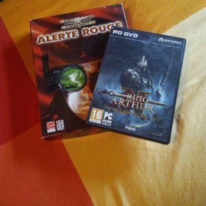 Deux jeux pc