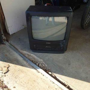 Télé avec magnétoscope