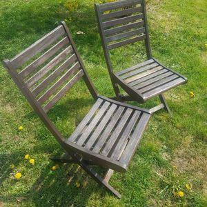 6 chaises à bricoler