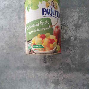 Conserve cocktail de fruits